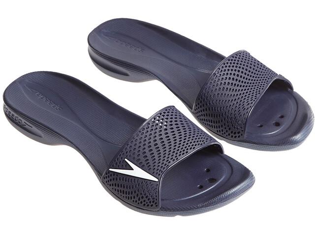 speedo Atami II Max Zapatillas de Casa Mujer, navy/white